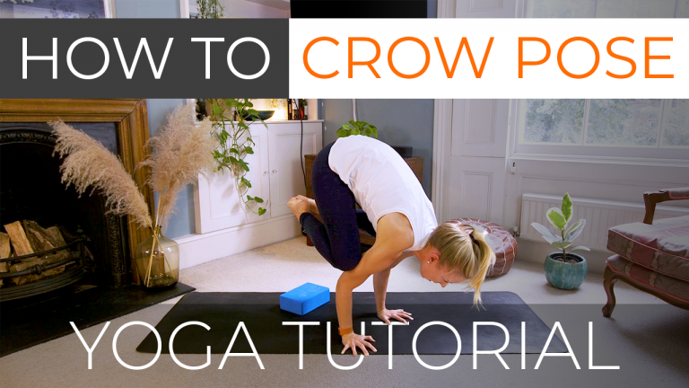 How to do Crow Pose (Bakasana Arm Balance)