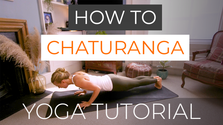 How to Chaturanga Dandasana (Four Limbed Staff Pose)