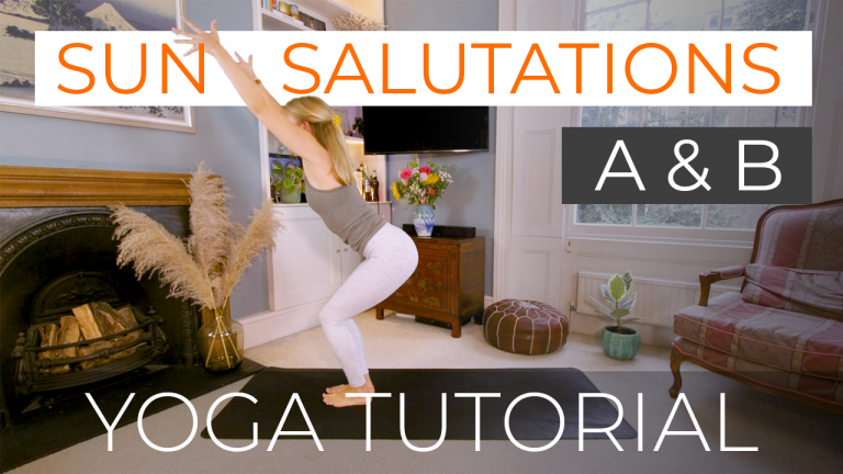 Sun Salutations A & B with 10 Minute Mini Flow