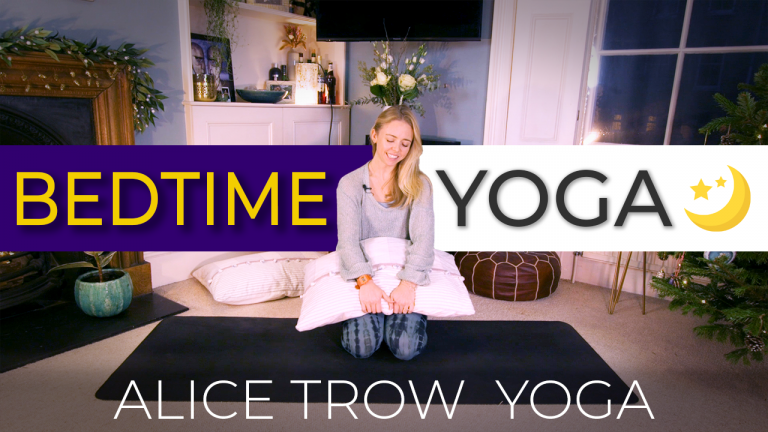 Yoga for Bedtime (and a great night's sleep)