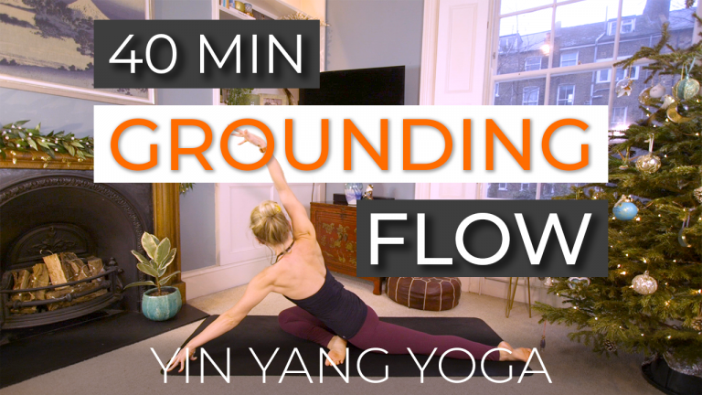 Grounding Flow (40 Min, Hips and Back)
