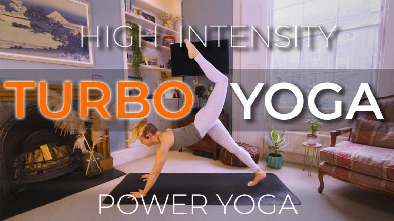Turbo Yoga (High Intensity Flow) - Power Yoga with Alice Trow