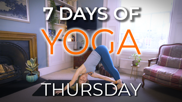 7 Days of Yoga – Thursday Slow Flow