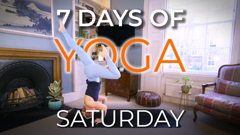7 Days of Yoga – Saturday Beasting