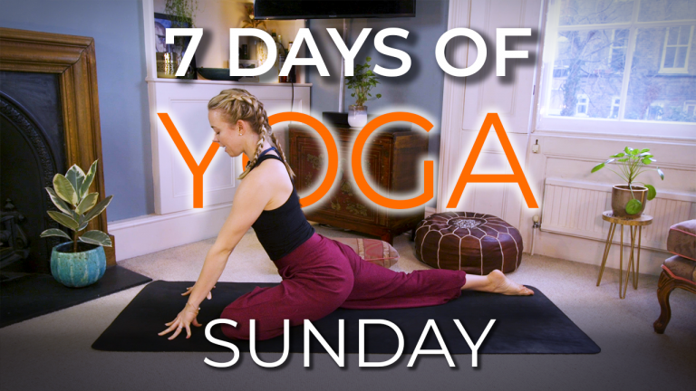 7 Days of Yoga – Sunday Slowdown