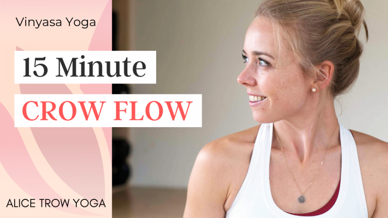 15 Minute Crow Flow (Arm Balances)