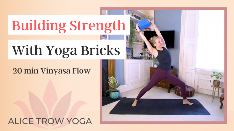 Building Strength with Yoga Bricks