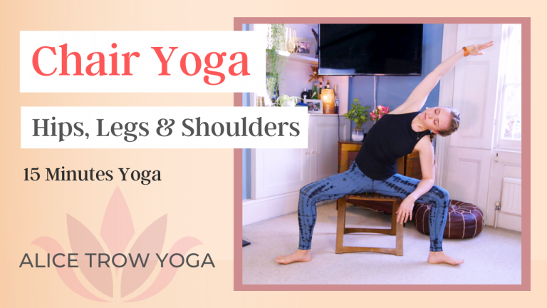 Chair Yoga (Round 1 – Hips, Neck, and Shoulders)