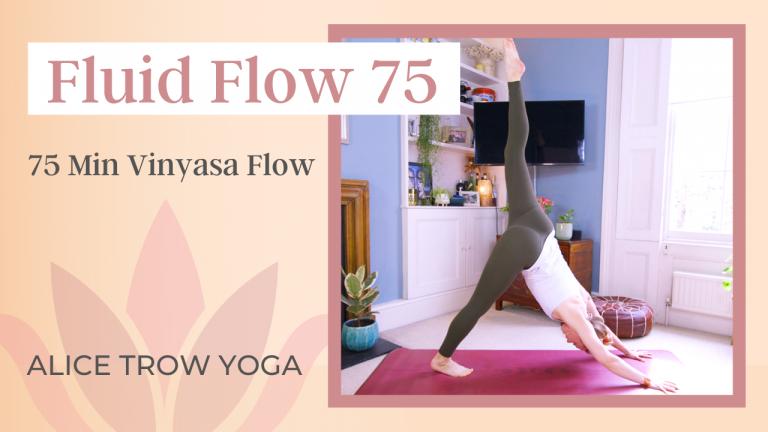 Fluid Flow 75 (Unleash the dancer in you…)