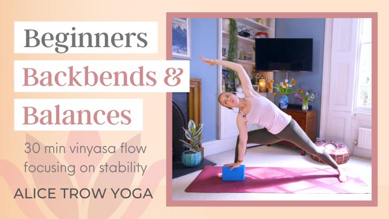 Backbends and Balances (Beginner)